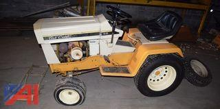 Cub Cadet with Plow
