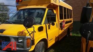 2001 GMC Savana 3500 Wheelchair Bus