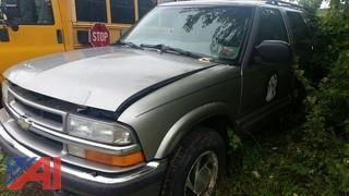 2000 Chevrolet Blazer 4 Door