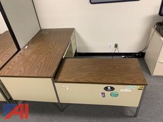Metal Corner Desks
