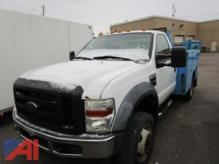 2010 Ford F450 Super Duty Utility Truck with Service Body