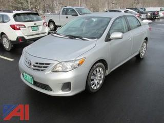 2013 Toyota Corolla LE 4 Door Sedan