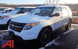 2013 Ford Explorer SUV/Police Interceptor