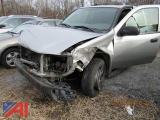 **Sold for Parts ONLY** 2004 Chevrolet Trailblazer SUV