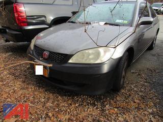 2005 Honda Civic 2 Door