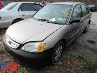 2001 Honda Civic 4 Door