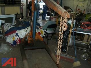 **Lot Updated** Ruger 2-Ton Hydraulic Crane