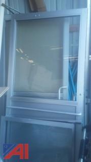 Glass Double Doors