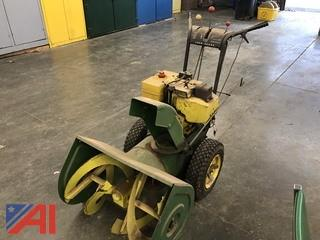 "2009 John Deere 26"" Snowblower"