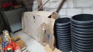 Commander Stainless Steel & Fiberglass Shower Cabinet