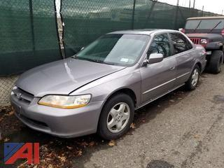 2000 Honda Accord 4 Door