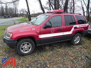 2004 Jeep Grand Cherokee SUV/Emergency Vehicle