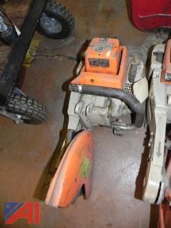 Stihl T5510 AV Concrete Saw (#1)