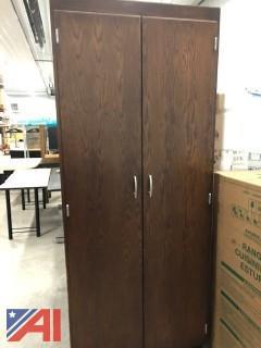 7' Wood Cabinet