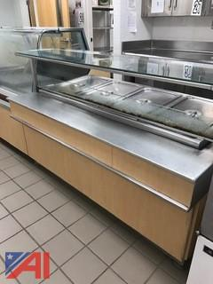4 Compartment Steam Table for Serving Line