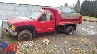 1993 Chevrolet 3500 Dump Truck