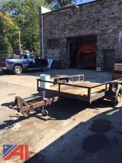 10' x 6' Single Axle Steel Trailer