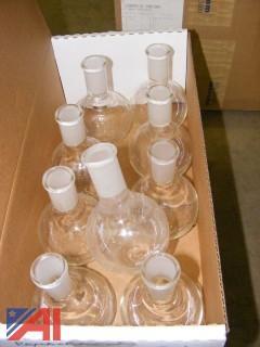 O&G Glass Flasks