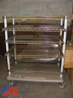 Metal Rolling Shelf