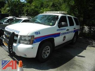 2009 Chevrolet Tahoe SUV/Police Vehicle