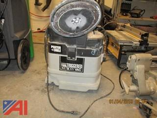 Porter Cable Power Tool Triggered Wet/Dry Vac