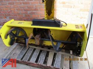 "John Deere Tractor 54"" Snowblower Attachment"