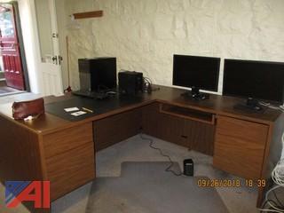 L-Shape Desks and Table