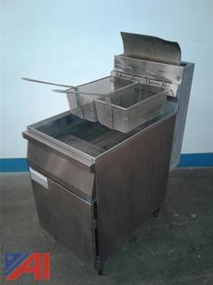 Cecilware Commercial Kitchen Deep Fryer
