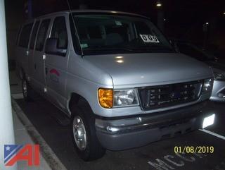 2005 Ford E350 15 Passenger Van