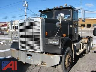 **Mileage Updated** 1987 Freightliner FLC Semi Truck
