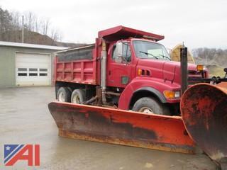 2000 Sterling LT9500 Dump Truck Snowplow