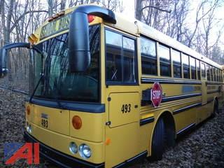 (493) 2008 Thomas School Bus