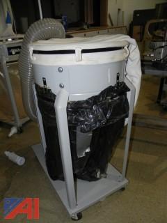 DELTA 50-850 1-1/2-Horsepower 1200 CFM Vertical Bag Dust Collector