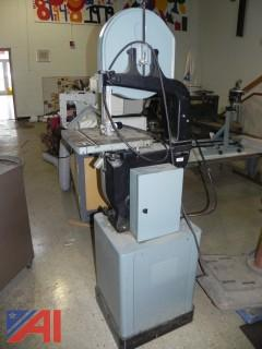 """Rockwell Delta 28-303F 14"""" Metal/Wood Vertical Band Saw 3/4HP"""