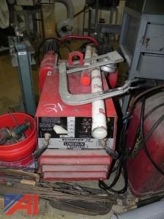 Lincoln Electric WeldanPower 150 Generator/Arc Welder with Supplies