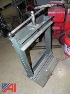 Dake, Model #UT10-8 Utility Press