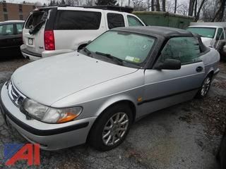 1999 Saab 9-3B Convertible 2 Door