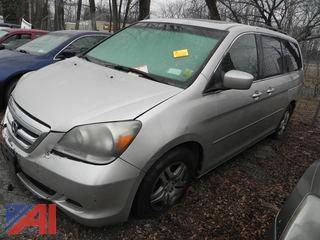 2007 Honda Odyssey Van