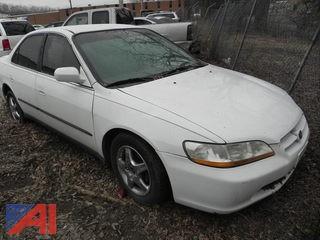 1998 Honda Accord 4 Door