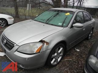 2002 Nissan Altima 4 Door