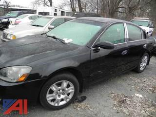 2005 Nissan Altima 4 Door