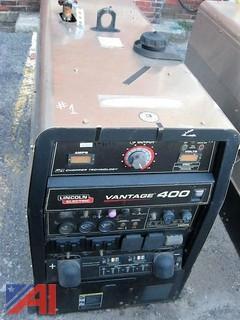 Lincoln Vantage 400 Diesel Welder
