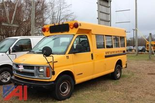 1997 Chevy G3500 Mini School Bus