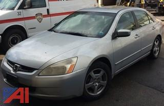 2005 Honda Accord/Hybrid 4 Door