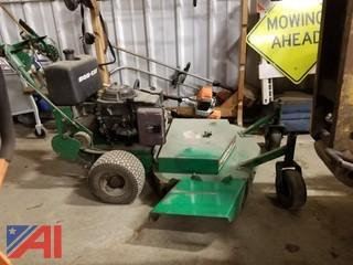 "1996 Ransomes Bobcat 36"" Walk Behind Mower"