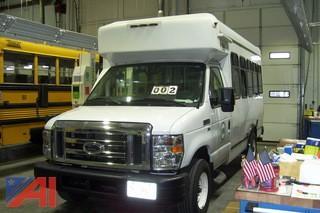 2014 Ford E350 Wheelchair Bus