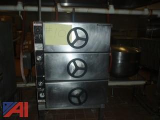 (#10) Market Force 3 Door Oven