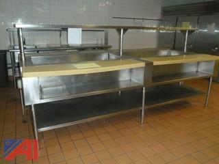 (#20) Food Prep Table
