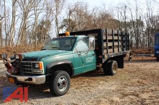 1992 Chevrolet C/K 3500 Rack Truck