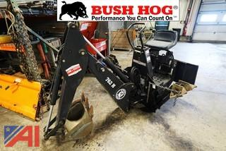 Bush Hog #762H Backhoe Attachment for a Bobcat Skidsteer